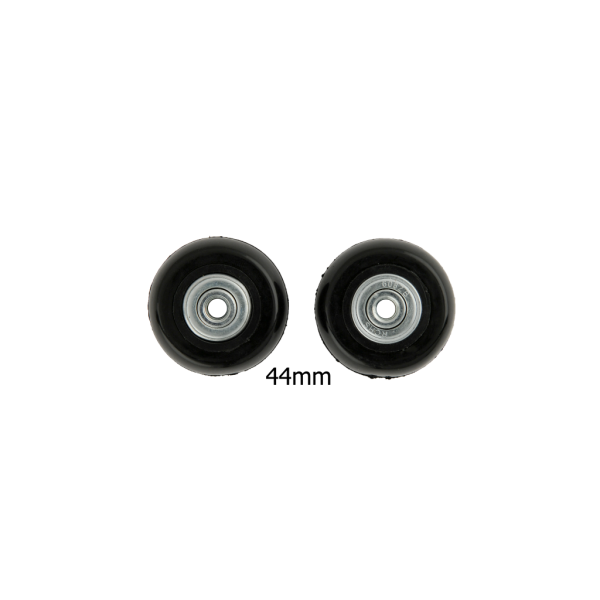 44mm Luggage Wheels Black