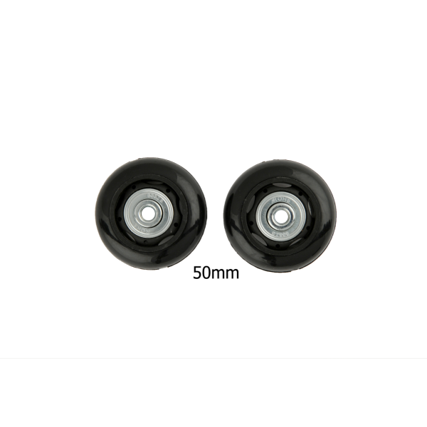 50mm Luggage Wheels Black