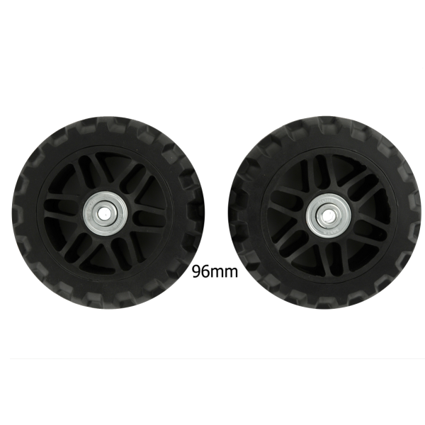 96mm Luggage Wheels Black